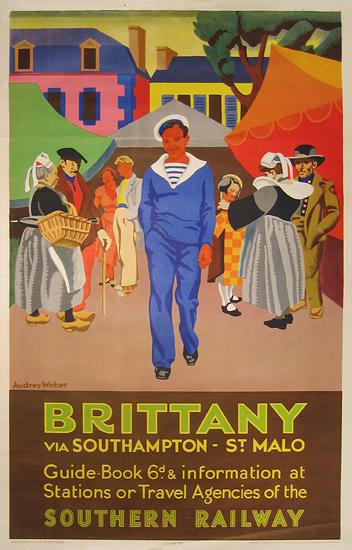Brittany via Southern Railway
