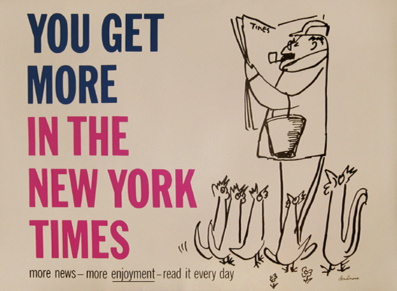 New York Times, You Get More (Chickens)