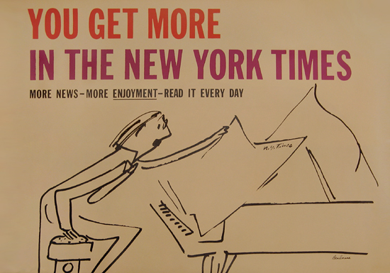New York Times, You Get More (Pianist)