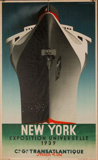 NEW YORK Normandie (Cassandre)