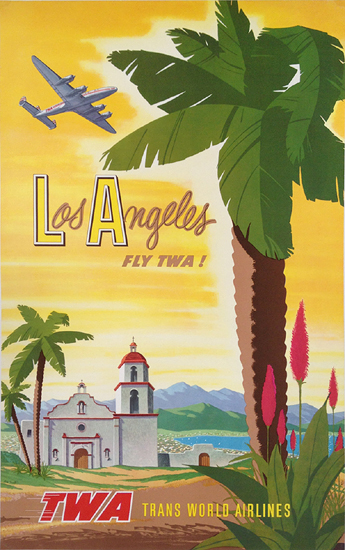 TWA Los Angeles (Palm Tree and Mission)