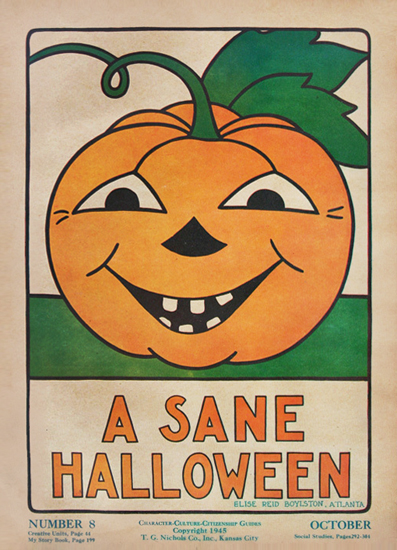 Character Culture Citizenship Guides, A Sane Halloween