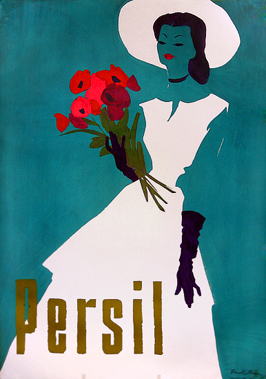 Persil (With Roses/Blue Background)