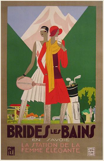 Brides les Bains en Savoie