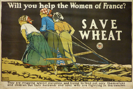Will You Help the Women of France? Save Wheat