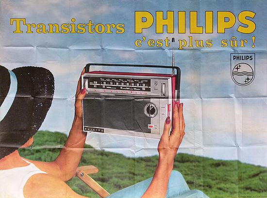 Philips Transistor Radio (Photographic)