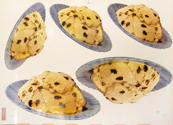 American Die Cut - Flying Ice Cream Saucers