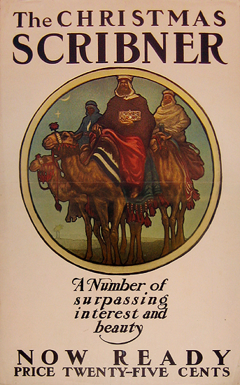 Scribner's (The Christmas Scribner) Three Kings Vignette