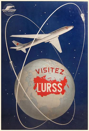 Visitez L'URSS - Intourist