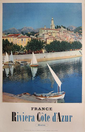 Riviera Cote d'Azure France