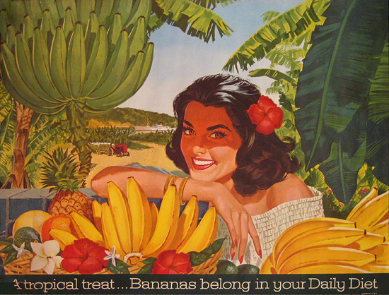 Bananas A tropical Treat