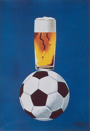 Beer on Football