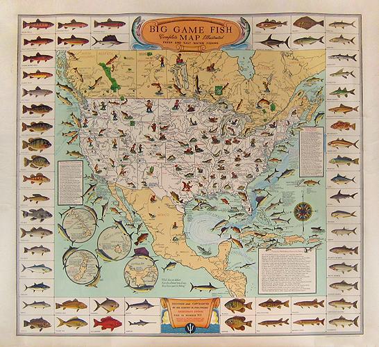 Big Game Fish Map
