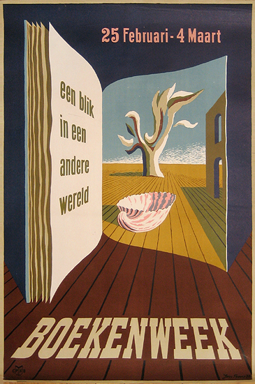 Boekenweek (Dutch Book Week/ Door)