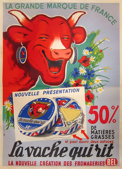 Vache Qui Rit Fromage (Laughing Cow Cheese)