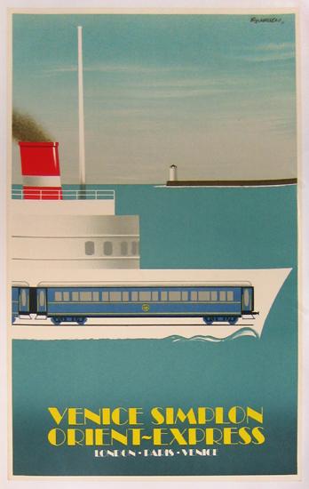 Venice Simplon Orient Express (Small/ Boat)