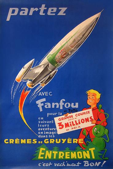 Entremont Cheese (Partez avec Fanfou et Toto/ Rocketship)