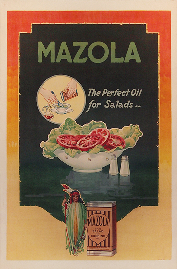 Mazola The Perfect Oil for Salad