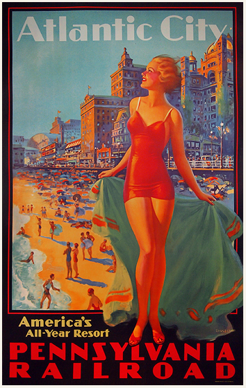Atlantic City Pennsylvania Railroad (America's All-Year Resort)