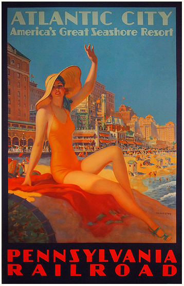 Pennsylvania Railroad Atlantic City (America's Great Seashore Resort)