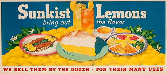 Sunkist Lemons (Bring out the Flavor/Lemon Pie)