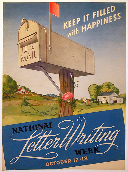 National Letter Writing Week