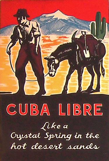Rum Card - Cuba Libre