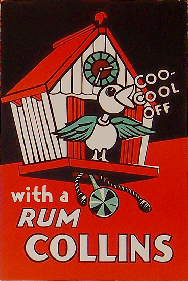 Rum Card - Coo-Cool Off with a Rum Collins