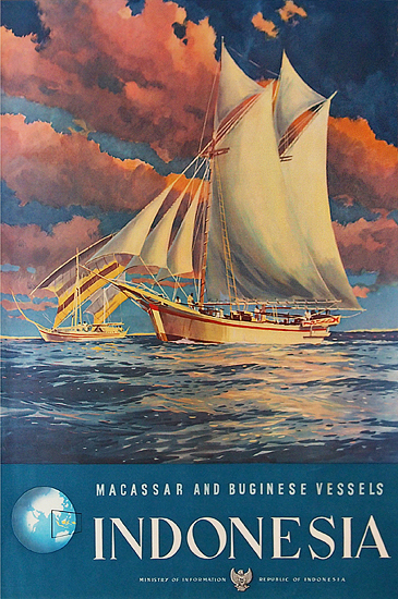 Indonesia Macassar and Buginese Vessels (Sailing Ships)