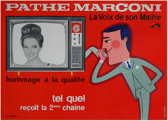 Pathe Marconi (Red)