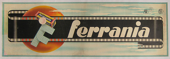 Ferrania (Light Blue Panel)