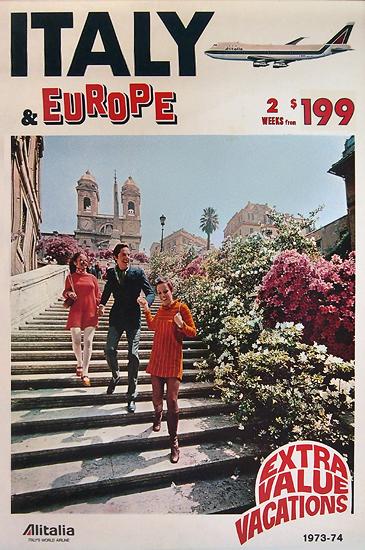 Alitalia Italy and Europe