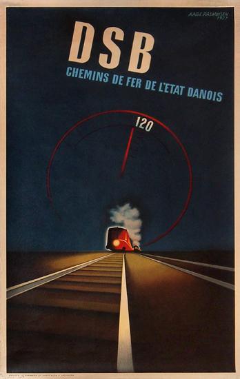 DSB Chemin De Fer L'Etat Danois