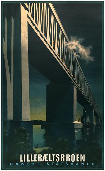 LilleBaeltsBroen Danske Statsbaner (Little Belt Bridge)