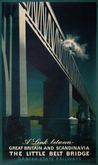 Little Belt Bridge - A Link Between Great Britain and Scandinavia