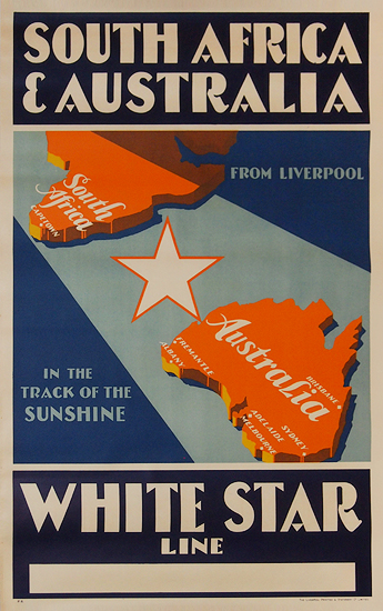 South Africa & Australia White Star