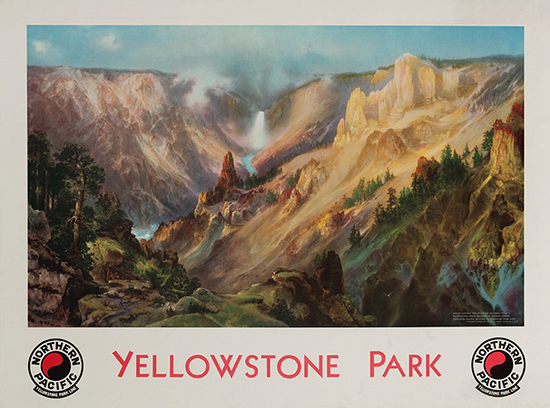 Yellowstone Park by Northern Pacific