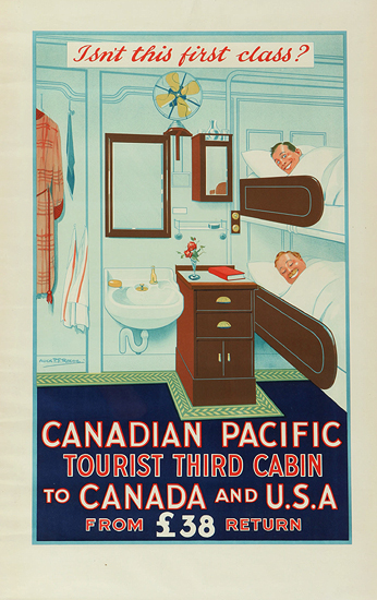 Canadian Pacific - Isn't this First Class?