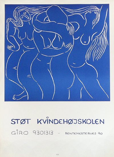 Stot Kvindehojskolen - Support Women's College (Blue)