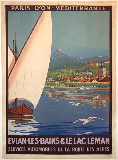Evian Les Bain & Le Lac Leman (PLM)