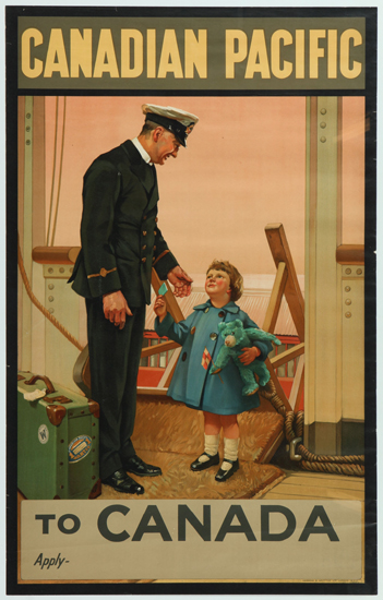 Canadian Pacific To Canada (Steward   and Child)