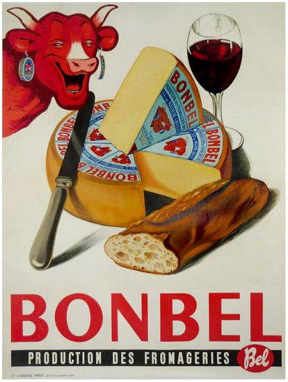 Bonbel (Cheese, Bread and Wine)