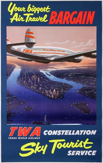 TWA Constellation Sky Tourist
