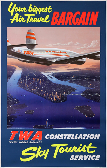 TWA Constellation Sky Tourist