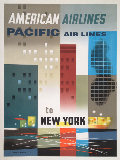 American Airlines New York (Pacific Airlines)