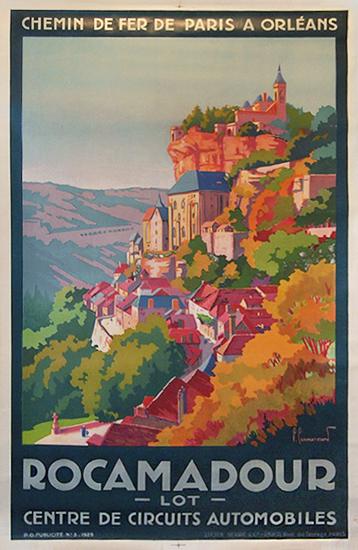 Rocamadour (Chemin de Fer de Paris a Orleans)