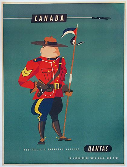 Qantas Canada (Mountie)