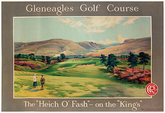 Gleneagles Golf Course (The Heich O'Fash on the Kings)