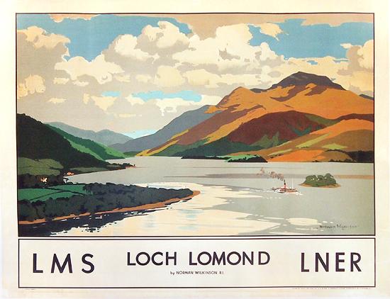 Loch Lomond LMS LNER