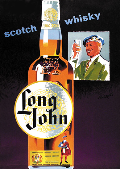 Long John Scotch Whiskey